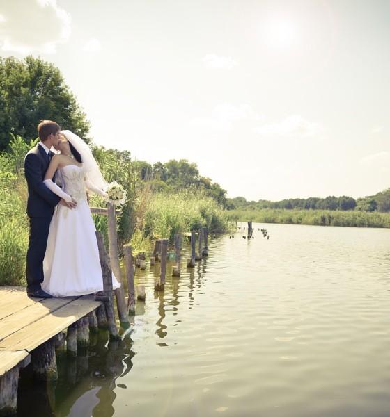 Najlepsze miejsce na zdjęcia ślubne plenerowe