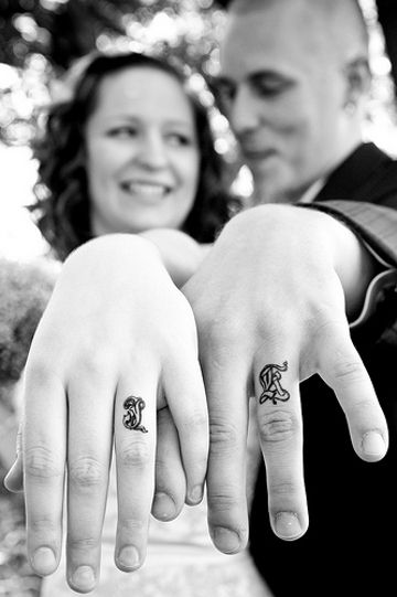 Tatuażowe obrączki