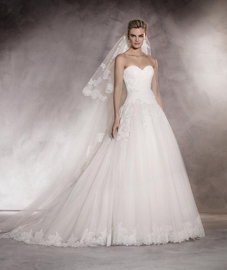 suknie ślubne figura gruszki