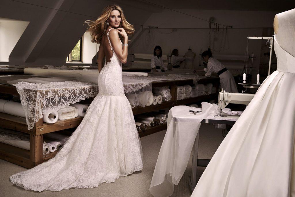 suknie ślubne figura klepsydra