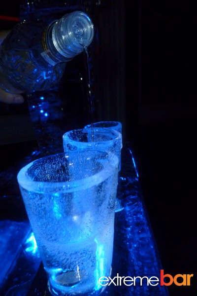 Lodowy drink bar
