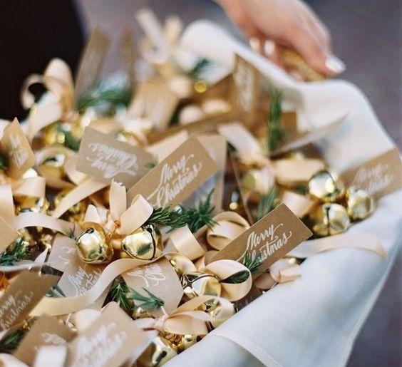 motyw złoty na wesele zimą