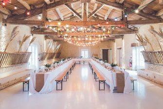 5 pomysłów na salę weselną