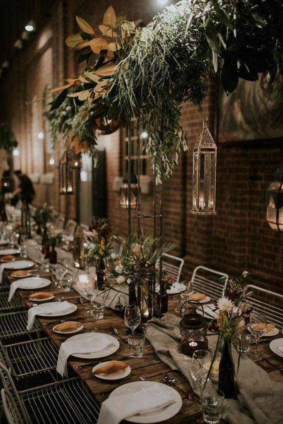 Industrial wedding