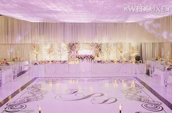 wesele w stylu glamour