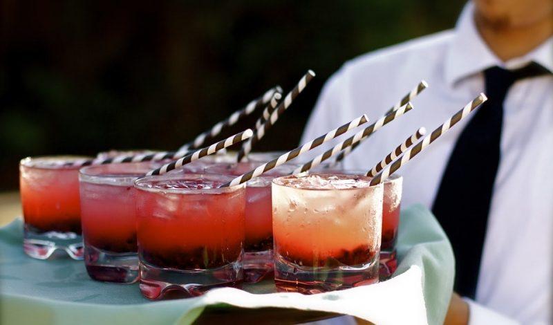 Zimne napoje na weselne przyjęcie!