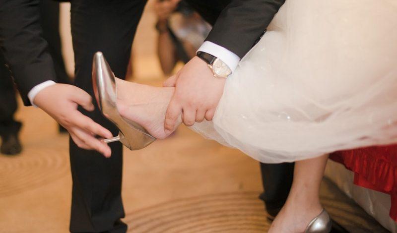 Jakie buty ślubne, jeśli nie białe?