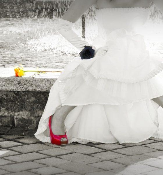 Kolorowe buty ślubne? Pewnie!
